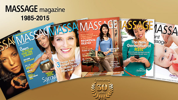 MASSAGE Magazine covers
