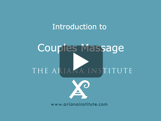 Ariana Institute's Introduction to Couples Massage
