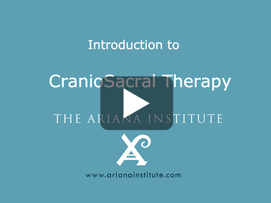 Ariana Institute's Introduction to Craniosacral Therapy